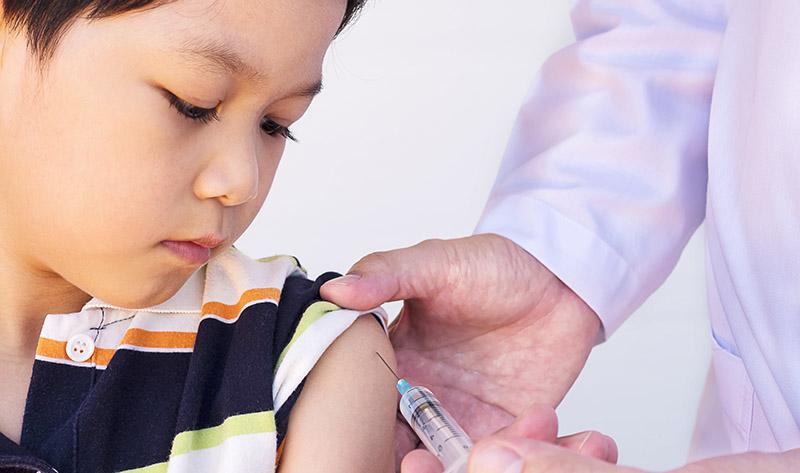 vacinação contra sarampo