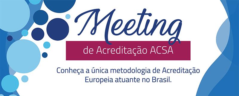 Meeting de Acreditação ACSA