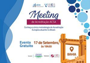 Meeting ACSA BA
