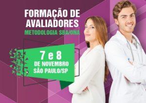 FORMAÇÃO DE AVALIADORES - novembro - SP