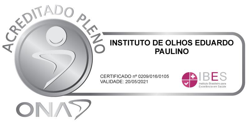 Instituto de Olhos Eduardo Paulino - Acreditado Pleno