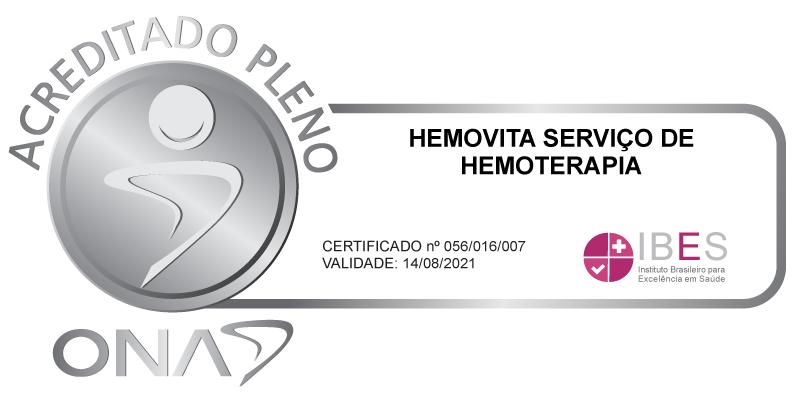 HEMOVITA SERVIÇO DE HEMOTERAPIA nível 2
