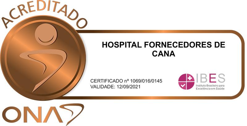 Hospital Fornecedores de Cana de Piracicaba - Acreditação Nível 1