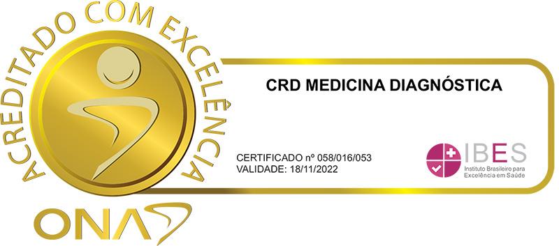 CRD Medicina Diagnóstica - Acreditado com Excelência