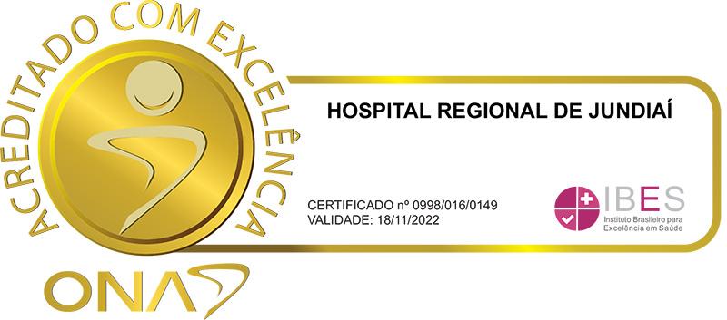 Hospital Regional de Jundiaí - Acreditado com Excelência
