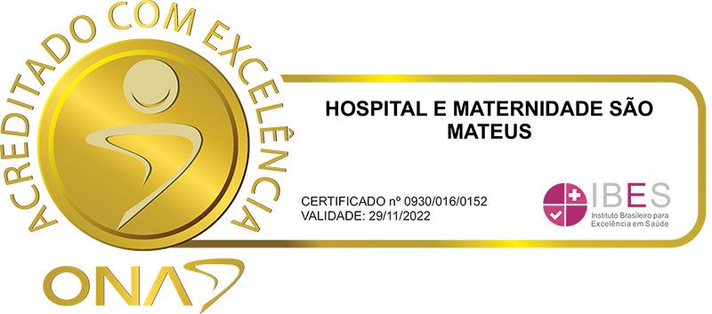 Hospital São Mateus - Acreditado com Excelência