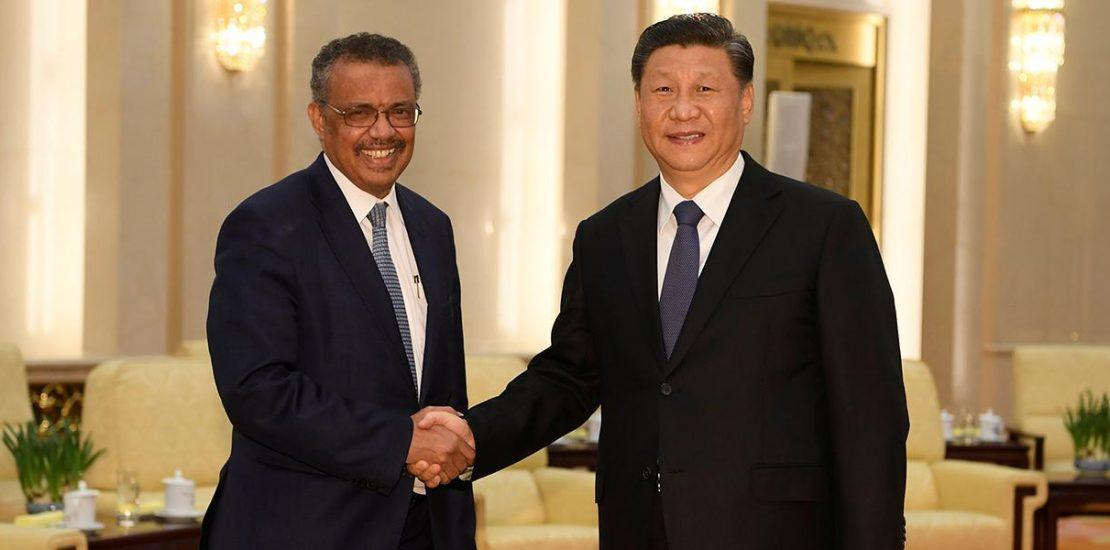 Diretor OMS e Presidente da China