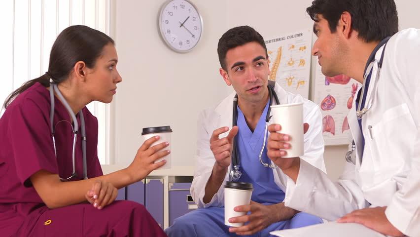 Sala de descanso para enfermeiros