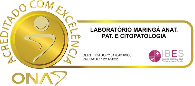 laboratório maringá - Acreditado com excelencia