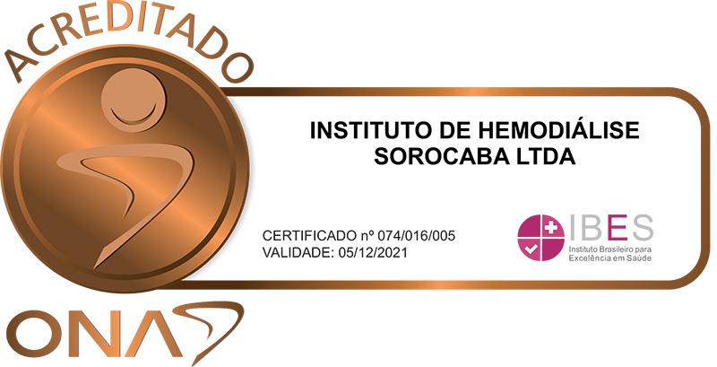 Instituto de Hemodiálise - Acreditado